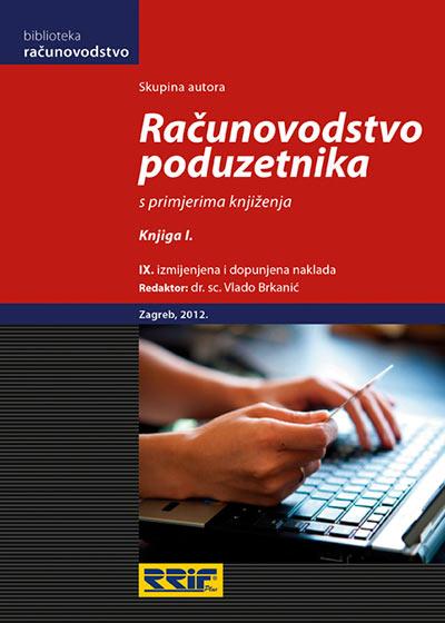Knjiga Računovodstvo poduzetnika